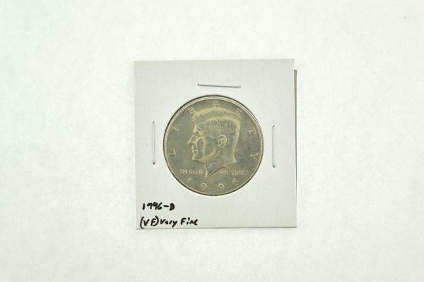 1996-D Kennedy Half Dollar (VF) Very Fine N2-3906-2
