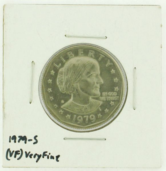 1979-S Susan B. Anthony Dollar RATING: (VF) Very Fine (N2-4392-2)
