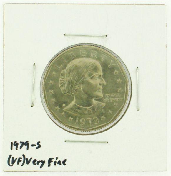 1979-S Susan B. Anthony Dollar RATING: (VF) Very Fine (N2-4392-3)