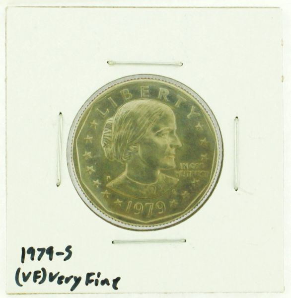 1979-S Susan B. Anthony Dollar RATING: (VF) Very Fine (N2-4392-5)