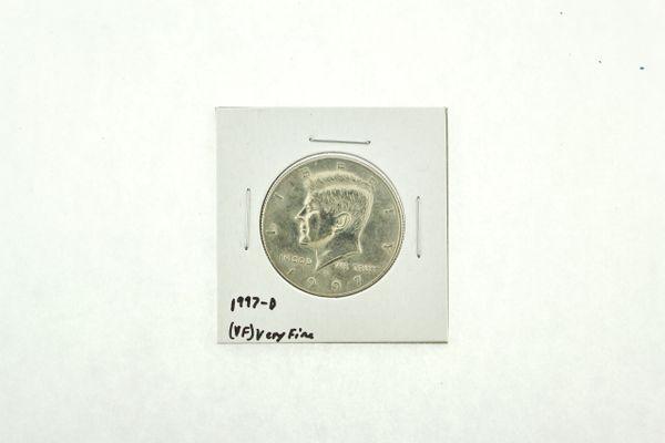 1997-D Kennedy Half Dollar (VF) Very Fine N2-3924-8