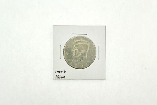 1997-D Kennedy Half Dollar (F) Fine N2-3932-4