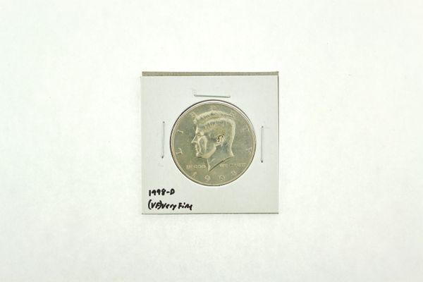 1998-D Kennedy Half Dollar (VF) Very Fine N2-3970-1