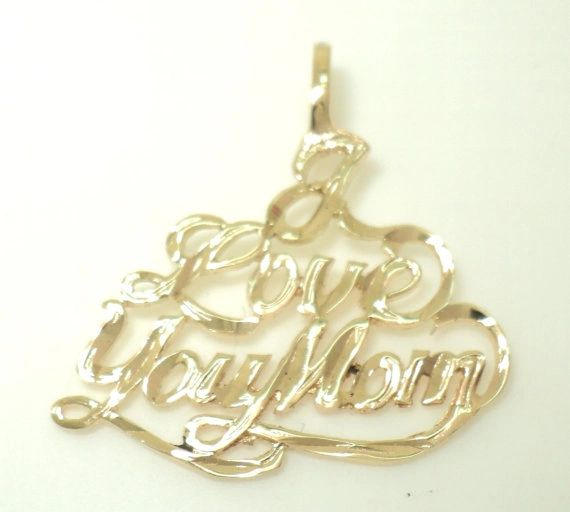 I Love You Mom Charm (JC-1024)
