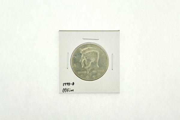 1998-D Kennedy Half Dollar (F) Fine N2-3973-2