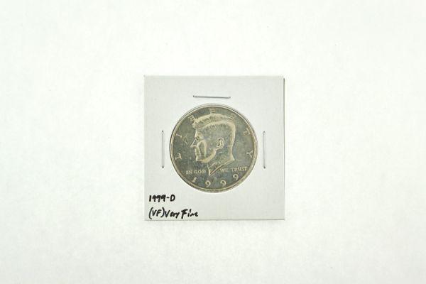 1999-D Kennedy Half Dollar (VF) Very Fine N2-3986-3