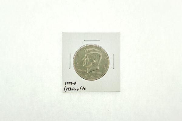 1999-D Kennedy Half Dollar (VF) Very Fine N2-3986-4