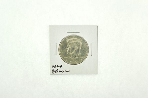 1999-D Kennedy Half Dollar (VF) Very Fine N2-3986-7