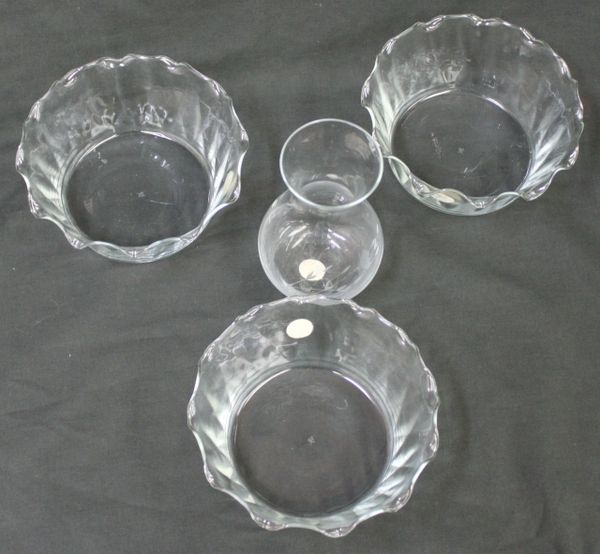 PRINCESS HOUSE EXCLUSIVE Mini Crystal Vase with 3 Bowls