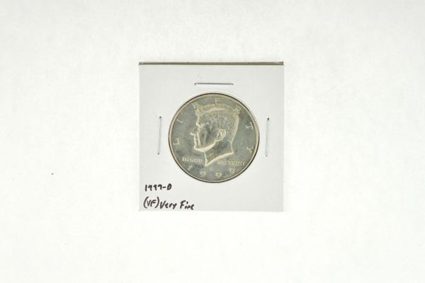 1999-D Kennedy Half Dollar (VF) Very Fine N2-3986-10