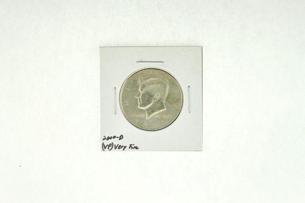 2000-D Kennedy Half Dollar (VF) Very Fine N2-4001-5