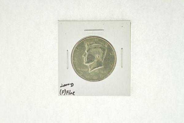 2000-D Kennedy Half Dollar (F) Fine N2-4008-2