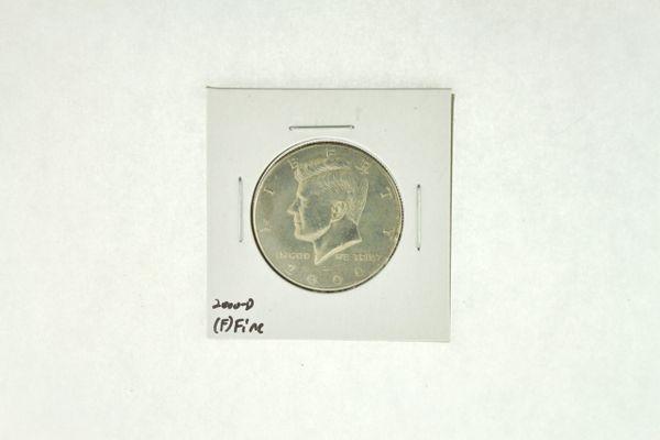 2000-D Kennedy Half Dollar (F) Fine N2-4008-5