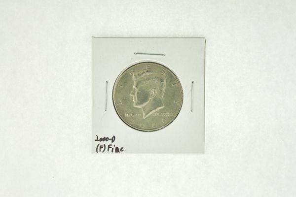 2000-D Kennedy Half Dollar (F) Fine N2-4008-7