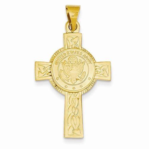 Army Insignia Cross Pendant (JC-1104)