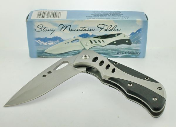 Frost Cutlery Stony Mountain Folder 16-163B Knife