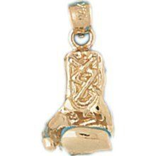3-D Boxing Glove Charm (JC-717)