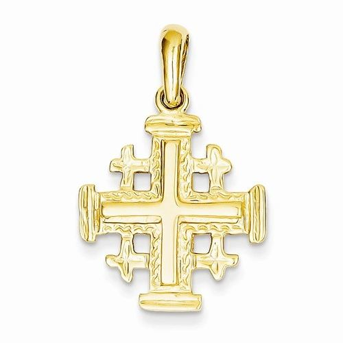 Jerusalem Cross Pendant (JC-1089)