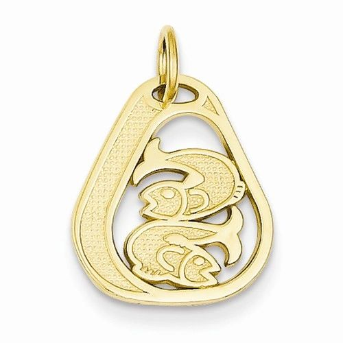 Small Pisces Charm (JC-1102)