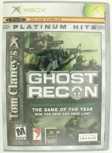 Tom Clancy's Ghost Recon Platinum Hits (Xbox, 2003)