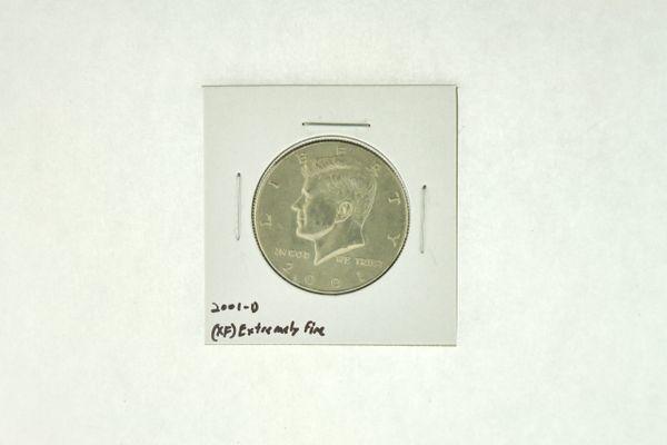 2001-D Kennedy Half Dollar (XF) Extremely Fine N2-4018-5