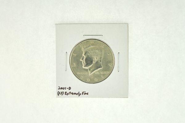 2001-D Kennedy Half Dollar (XF) Extremely Fine N2-4018-6