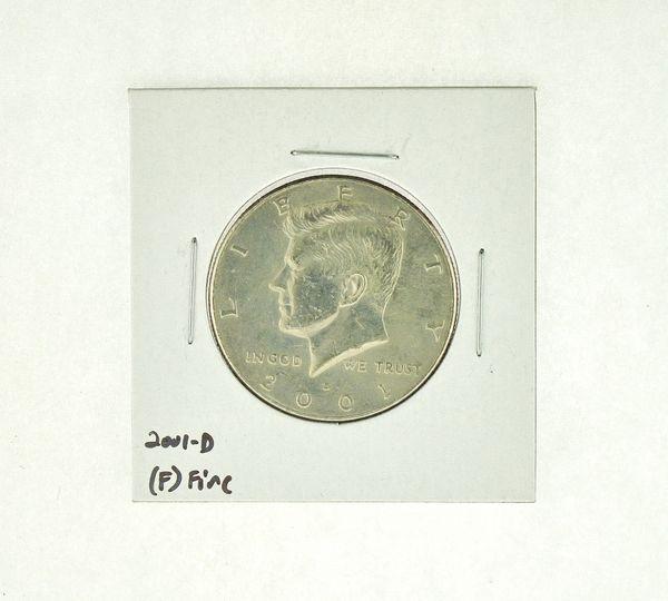 2001-D Kennedy Half Dollar (F) Fine N2-4032-4