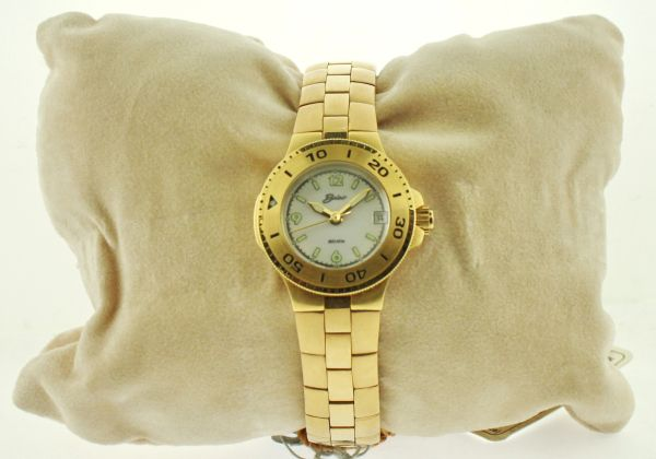 Belair A9765 Gold Tone Womens Watch
