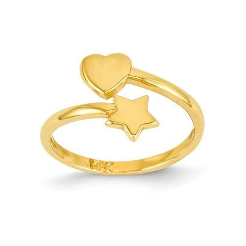 Heart & Star Toe Ring