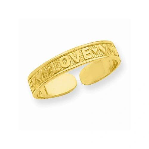 Love Toe Ring
