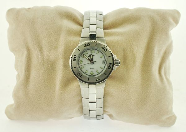 Belair A9765 Silver Tone Womens Watch