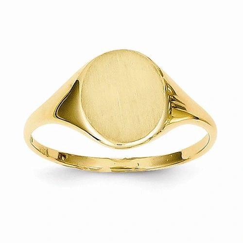 Circular Signet Ring