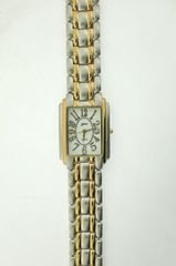 Belair A5689 Silver & Gold Tone Mens Watch