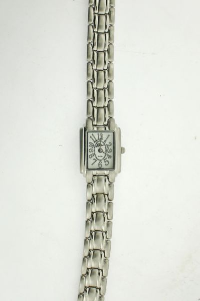 Belair A8689 Silver Tone Womens Watch