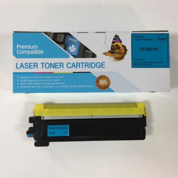 COMPATIBLE BROTHER TN210C CYAN TONER CARTRIDGE