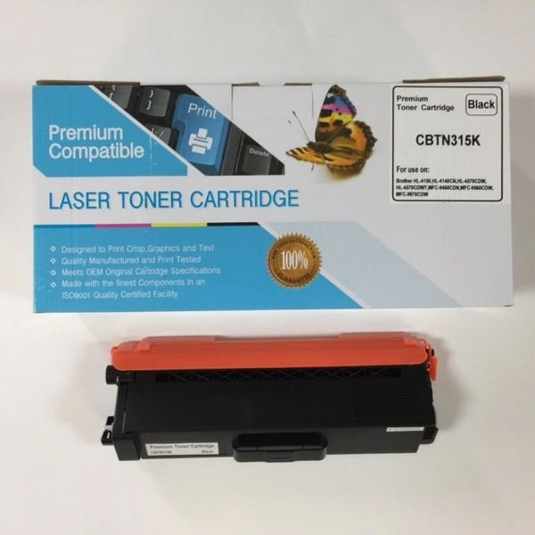 COMPATIBLE BROTHER TN315K BLACK TONER CARTRIDGE