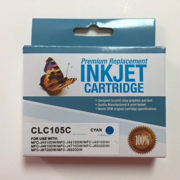 Compatible Brother LC105C Cyan Inkjet Cartridge