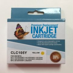 Compatible Brother LC105Y Yellow Inkjet Cartridge