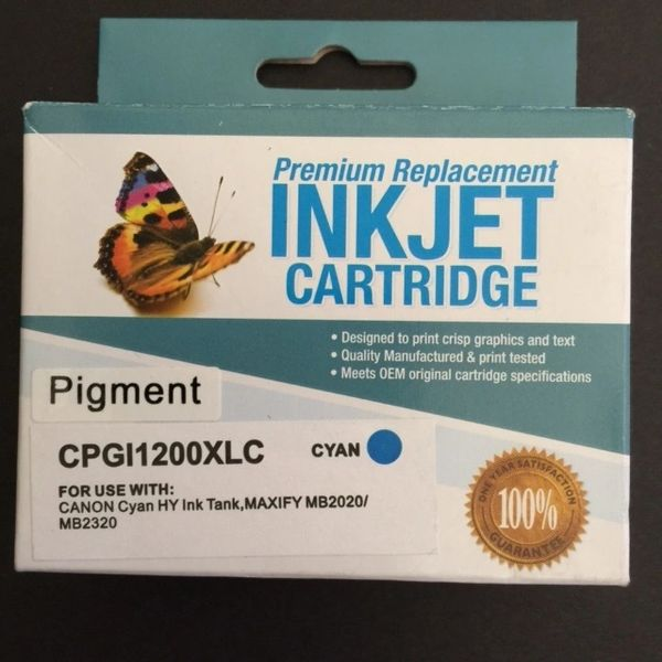 Compatible Canon PGI-1200XL (9196B001) Cyan Inkjet Cartridge
