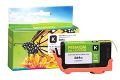Remanufactured HP 564XL (CN684WN) Black Inkjet Cartridge