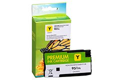 Remanufactured HP 951XL (CN048AN) Yellow Inkjet Cartridge