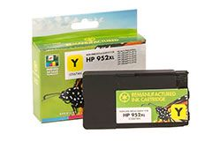 Remanufactured HP 952XL (L0S67AN) Yellow Inkjet Cartridge