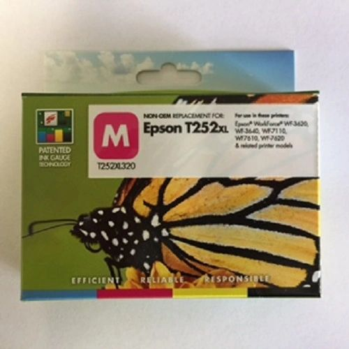 Remanufactured Epson T252XL320 Inkjet Cartridge Magenta