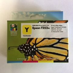 Remanufactured Epson T252XL420 Inkjet Cartridge Yellow