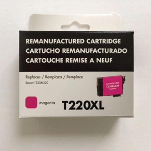 Remanufactured Epson T220XL320 Inkjet Cartridge Magenta
