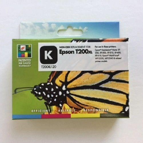 Remanufactured Epson T200XL120 Inkjet Cartridge Black