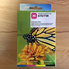 Compatible Brother LC75M Magenta Inkjet Cartridge