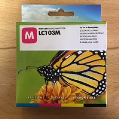 Compatible Brother LC103M Magenta Inkjet Cartridge
