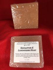 Eucalyptus Lemongrass Hemp Soap