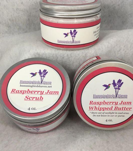 Raspberry Jam Butter & Scrub